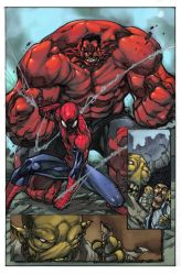 Avenging Spiderman by toonfed