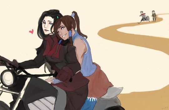 korrasami bitches. by campuses