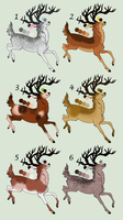 !!!CLOSED FREE!!! Stag Adoptables by KittyAdopts63