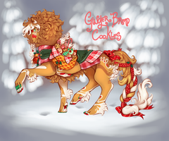 .:GingerBreadCookies:. Holiday Ren closed by Hauket