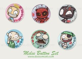 Melee Button Set by Sanaril