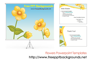 Flowers Powerpoint Templates by ppttemplates
