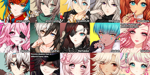 Icon commission batch 10 by Leirix