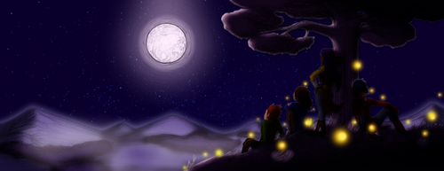 Moonrise, colored by DreamAddiction77
