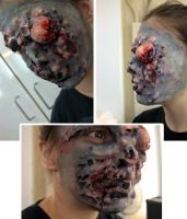 zombie makeup by bodysnatched