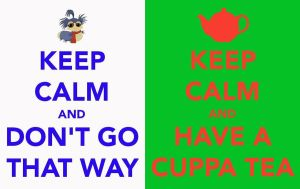Labyrinth Worm - Keep Calm And... by PreciousThing66