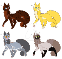 Cats Adoptables CLOSE by lit-nebulosa
