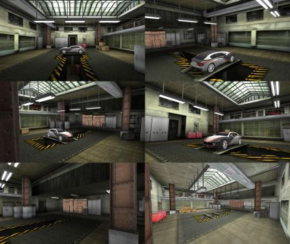 Unity3D Garage by M0NTEZUMA