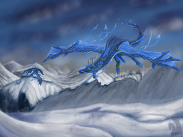 Season dragons-Winter by Dragoma