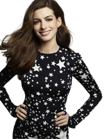 Anne Hathaway PNG by VelvetHorse