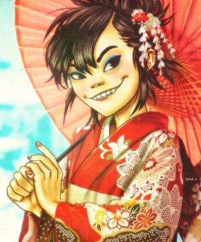 Noodle Loves Japan by EddieHolly