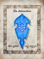 Middle-earth heraldry: Gil-galad by Aglargon
