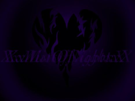XxMistOfNightxX (YouTube channel logo) by LittleMissTreasure