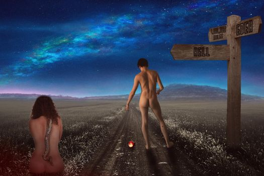 Long Road Out Of Eden by BluScreenPhotography