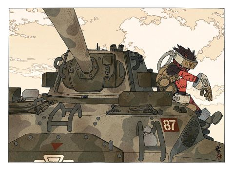 N8t And Tank by AfuChan