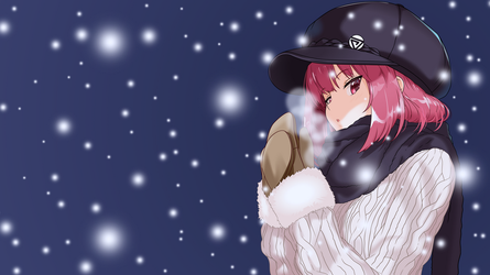 Winter Wallpaper by Dekodere