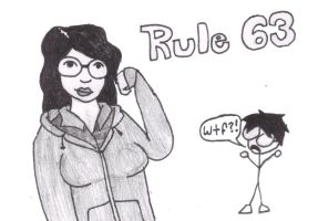 Rule 63 title card by NetSenshi