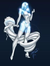 Emma Frost Diamond Form by krissthebliss