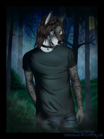 Commission: Late Night Walk by Deazea