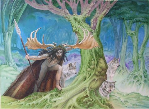 Herne the Hunter by forestgnome