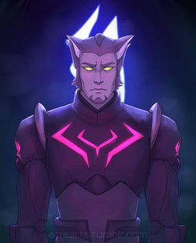 Voltron: Thace by AtreJane