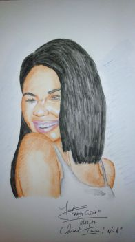 Chanel Iman, Wink by fab37