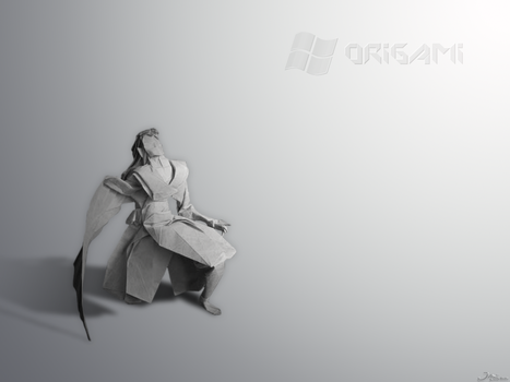 Windows Origami by Jagouille