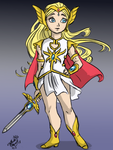 She-ra redesign idea by Untraceablemystic