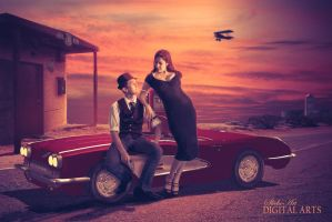 Bonnie and Clyde by SlichoArt