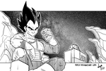 Vegeta after-work by dsp27