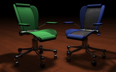 Office Chairs by At0mArt