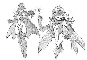 Kaffee Concept Sketches by GhoastGoat77