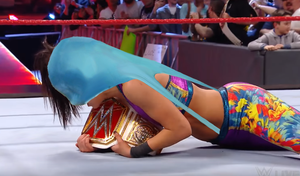 Bayley wedgie by EmmaRoused