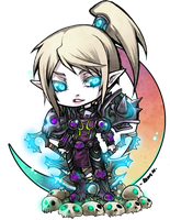 ::chibi for SorrowfulShadow:: by rann-poisoncage