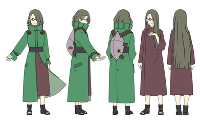 Urume Aburame SxS child Color by SunakiSabakuno