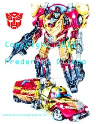 Rodimus Prime (Convoy) by frederickofolympus