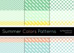 Summer Colors Patterns by MysticEmma
