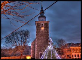 HDR Saive church by Lucifer4671