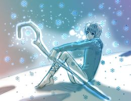 Jack Frost sketch by AngelofHapiness