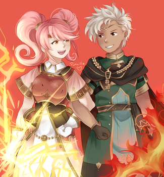 Boey and Mae by pumvilla