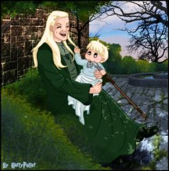 Lucius Malfoy and baby Draco by Harry-Potter-Spain