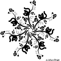 7 Cats by CatSpaceDesign