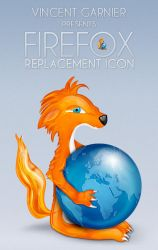FIREFOX Replacement Icon by Benjigarner
