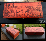 Fox-Pyrography by FuzzyMaro
