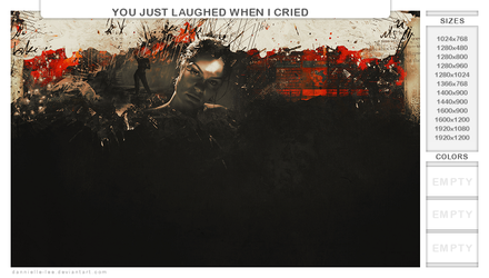 you just laughed when i cried by dannielle-lee