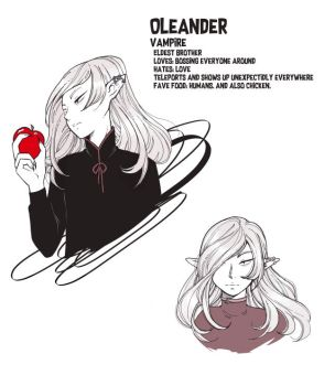Oleander by zambicandy