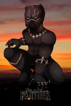 Black Panther by Desinho
