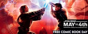 Free Comic Book Day/Star Wars FB Cover by IzabelMarrupho
