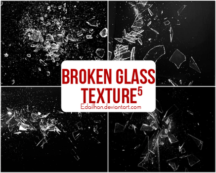 Broken Glass Texture -5 by Edailhan