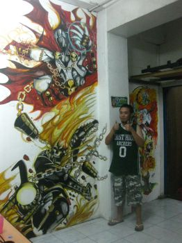 my wallpainting by vonrandal